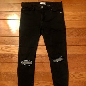 Free People Ripped Jeans!
